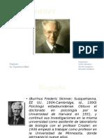 Teorias del comportamiento por Skinner
