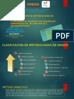 Diapos Clasificación de Metodologías de Ensayos