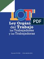 Ley Orgánica Del Trabajao y Los Trabajadores LOTT