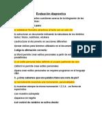 Evaluación Diagnóstica Bloque 3 Info