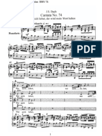 BWV74 - Wer mich liebet, der wird mein Wort halten