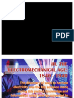 Electromechanical Age of Computers