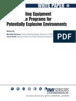 Understanding Equipment Certification Programs for Potientaially Eplisive Enviroment