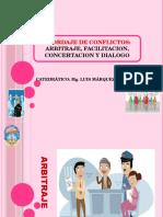 Arb Itraje Facilitacion Concertacion Dialogo