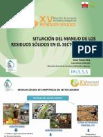 Residuos Sólidos del Sector Agrario