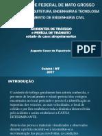 Pericia de Trânsito - Acidentes de Tráfego - Atropelamento - 2017