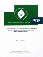 A Case Study on Soil Erosion Rate and Sediment Yield of a Proposed Infrastructural Development Project %2824 Pages%29 (1)