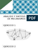Analisis y Sintesis de Mecanismos