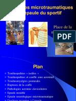 Epaule  Sportif