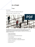 Working Safely at Height
