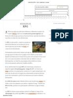 Definición de RPG - Qué Es, Significado y Concepto