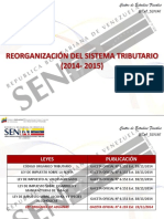 Reorganizacion Sistema Tributario 2015