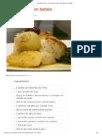 Receita de Vovó - Só Receitas Simples - Bacalhau Com Batata