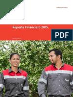 Report e Financier o 2015