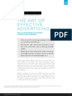 Nielsen Featured Insights the Art of Effective Advertising