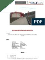 Estudio Hidrologia Hidraulica y Drenaje