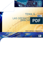 Tema 6. Operaciones Bancarias
