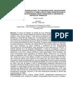 A Classificação Internacional de Funcionalidade, Incapacidade e Saúde Como Alternativa a Tabela Dpvat
