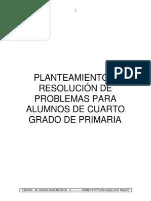 235590117-Problemas-Cuarto-Grado.pdf | Rectángulo | Triángulo
