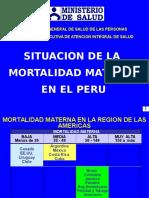 Situación Salud Materna