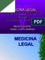 Medicina Legal 1ra Clase Upt
