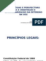 Apresentação Colóquio - Creditação e Curricularização Da Extensão