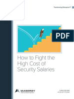 How to Fight the High Cost Security Salaries