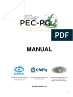 Manual PEC-PG 2014 - Versão Final