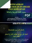 Kewajiban Menegakkan Syariah & Khilafah Temanggung 28032010