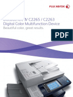 DocuCentre IV C2263C2265 Brochure