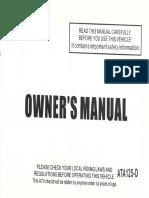 Taotao Ata125d Manual