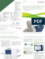 DocuCentre IV C7780 6680 5580 Brochure