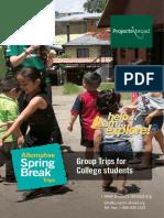 Alternative Spring Break Leaflet