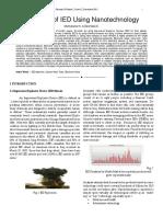 Detection of EID using Nanotechnology