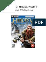 Heroes of Might and Magic v - Kuźnia Przeznaczenia [PL] - Poradnik