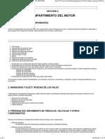 Inspección Pre-Entrega Cruze COMPARTIMIENTO MOTOR