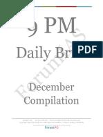 9 PM December Compilation