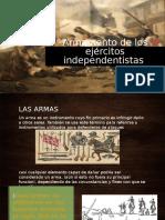 exp armas en la conquista (Colombia)