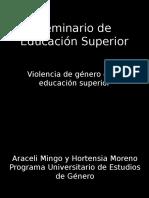 Epidemiologia de la violencia