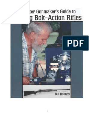 Gunsmithing - Building Bolt-Action Rifles pdf | Drill | Rifle