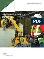 Technical Advisory for Demolition