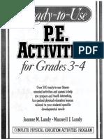 pe activities for grades 3-4 1