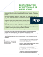 Zone Regulation for Hotel Rooms