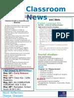 week 34- kg2 newsletter