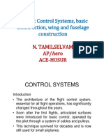 Aircraft Control Systems,Basic Construction,Wing and Fuselage Construction