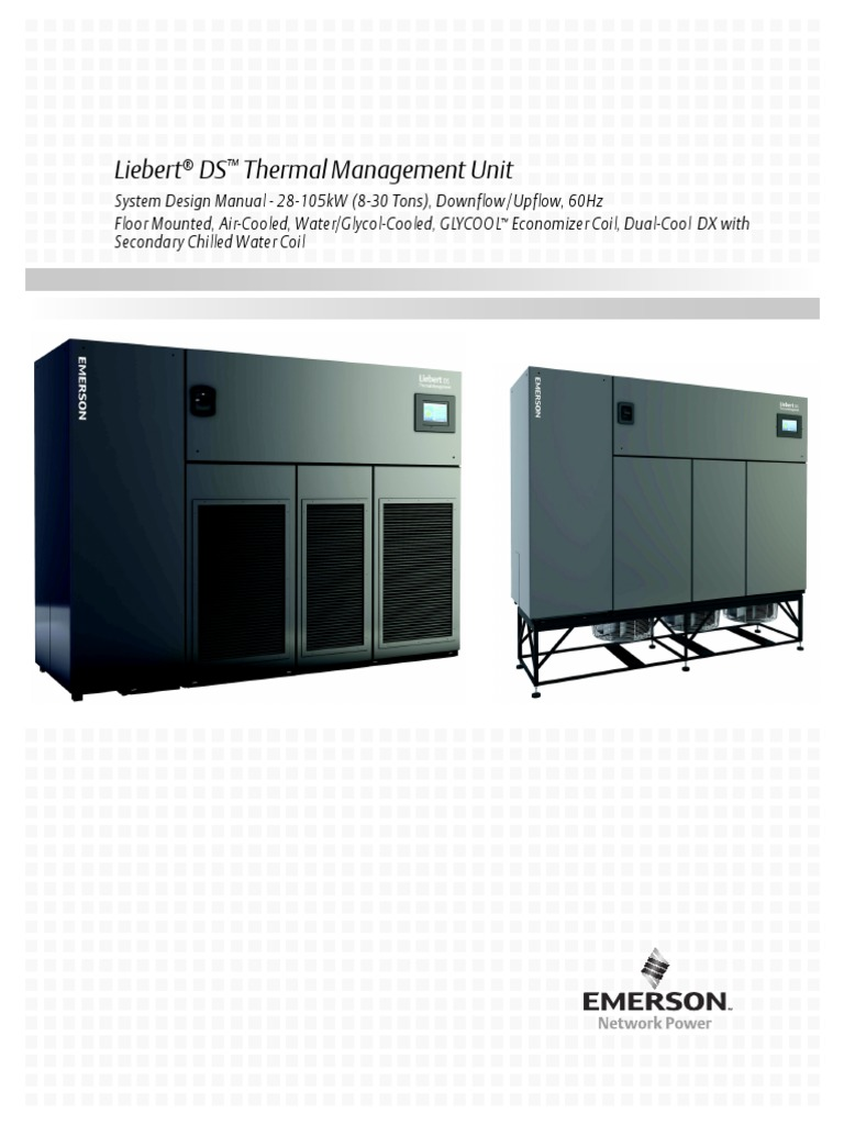 ds system design manual icom touch en na sl 18827 r12 15 pdf rh scribd com Liebert AC Units liebert hiross air conditioning+manual