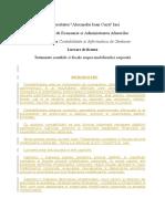 Tratamente Contabile Si Fiscale Asupra Imobilizarilor Corporale