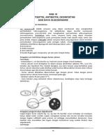 Bab 9 Antiseptik Antibiotik Desinfektan Dan Daya Oligodinamik