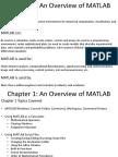 Mat Lab Notes Chap 01