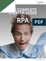 Rpa Starter Guide
